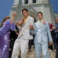 Newly Married Gay Couple Exiting Church